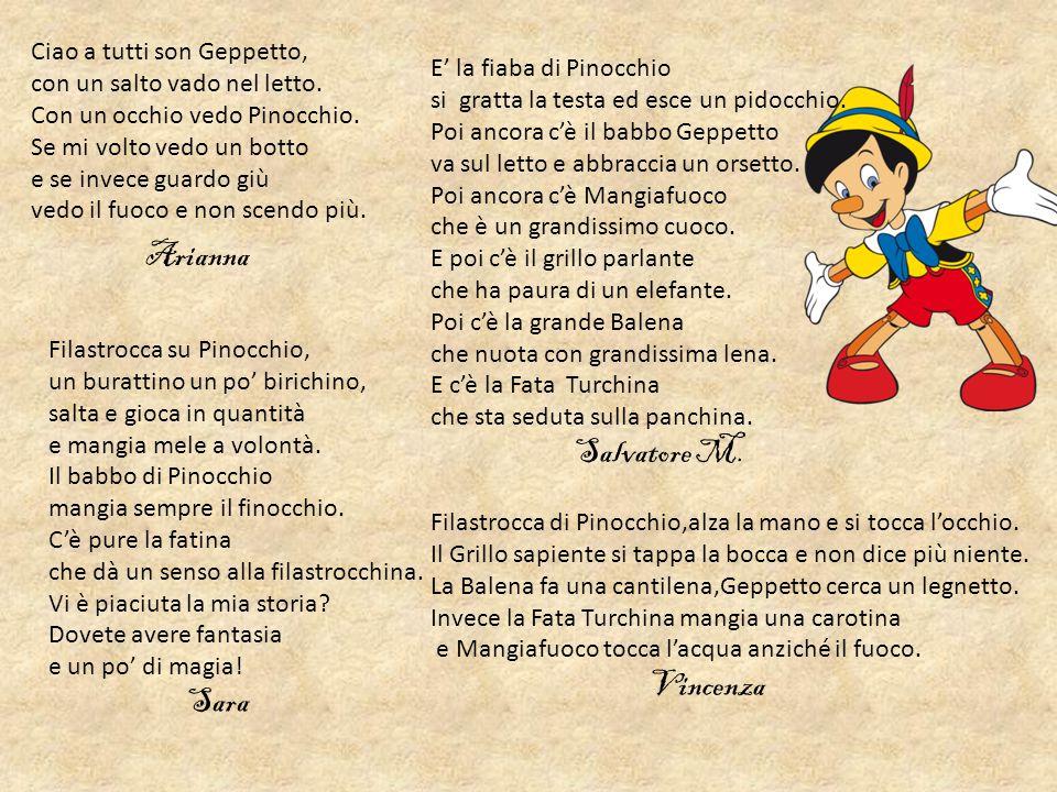 Salvatore M. Ciao a tutti son Geppetto, con un salto vado nel letto.