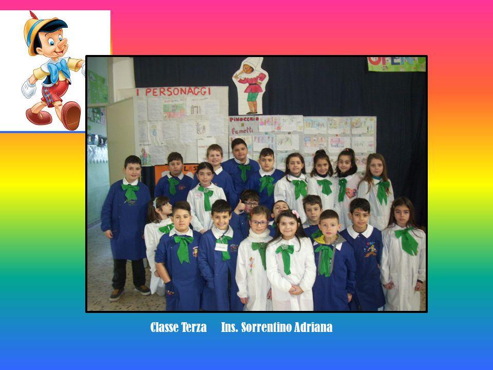Classe Terza Ins. Sorrentino Adriana