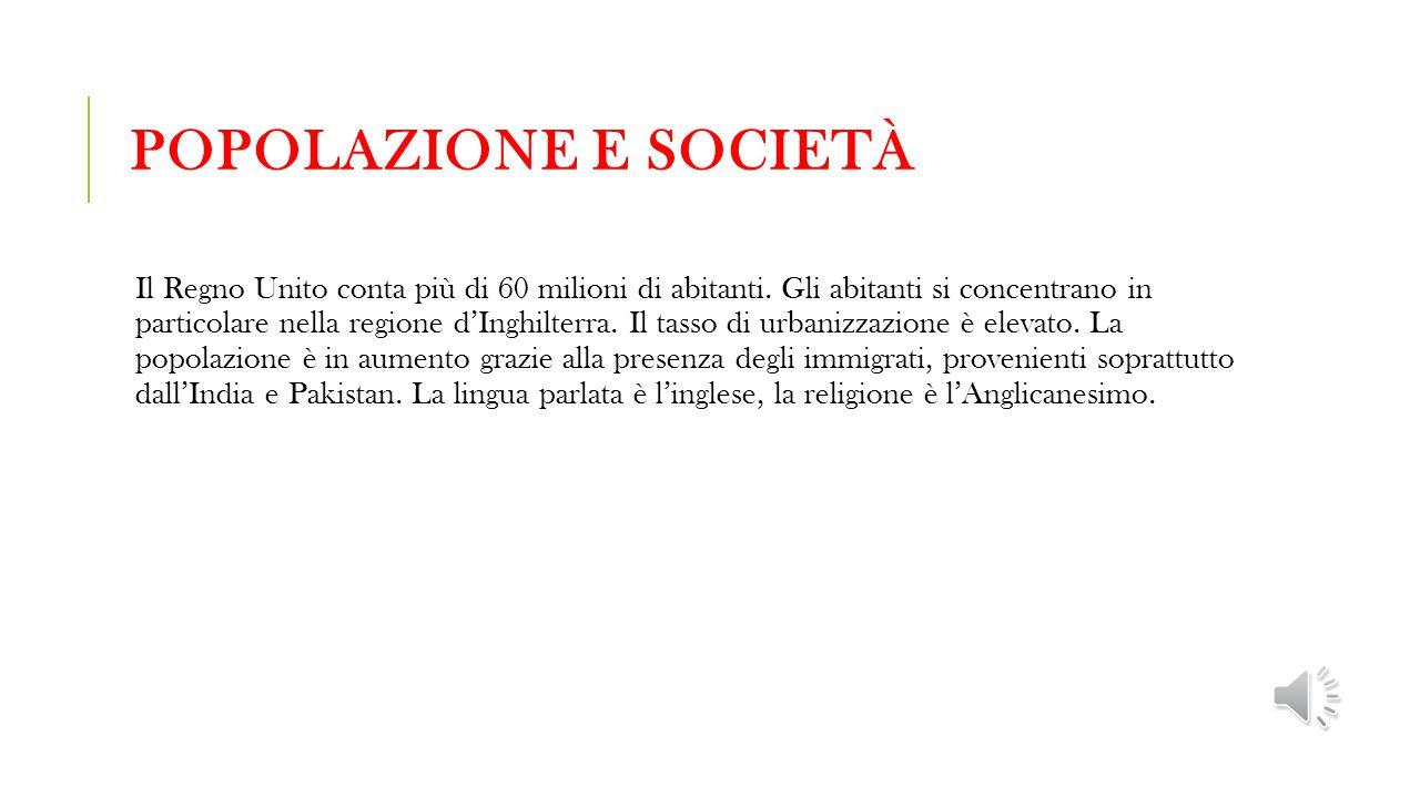 Popolazione e società