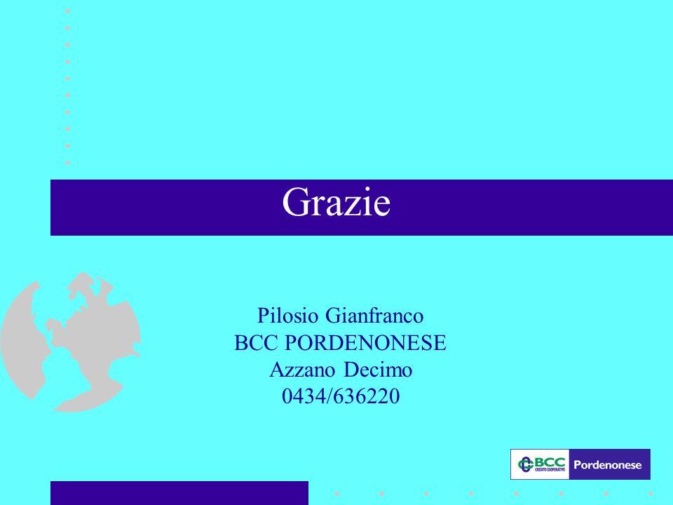 Pilosio Gianfranco BCC PORDENONESE Azzano Decimo 0434/636220