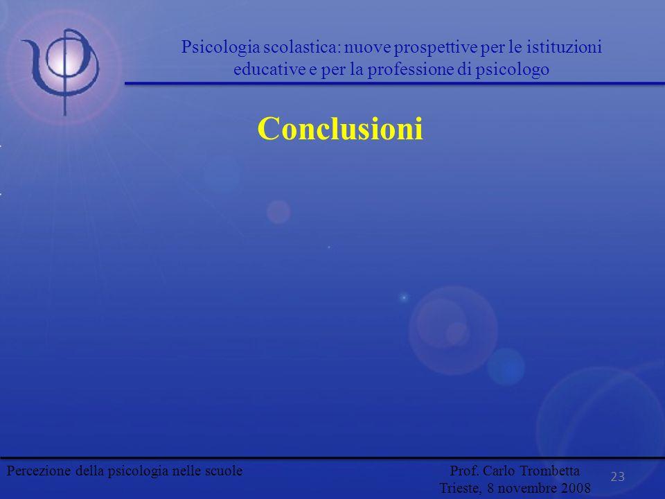 Psicologia scolastica: nuove prospettive per le istituzioni educative e per la professione di psicologo