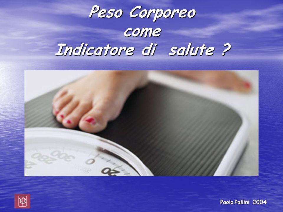 Peso Corporeo come Indicatore di salute