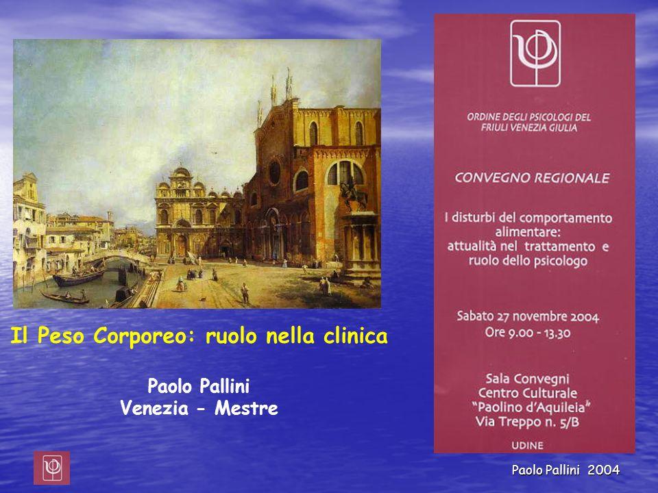 Il Peso Corporeo: ruolo nella clinica