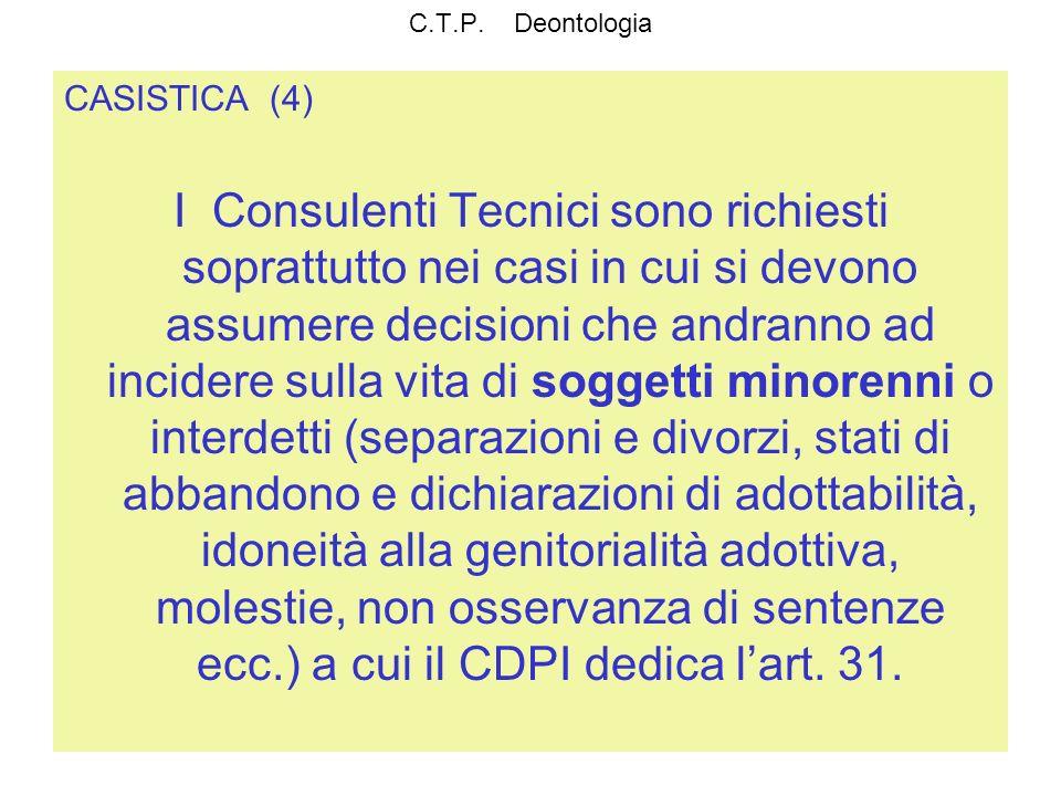 C.T.P. DeontologiaCASISTICA (4)