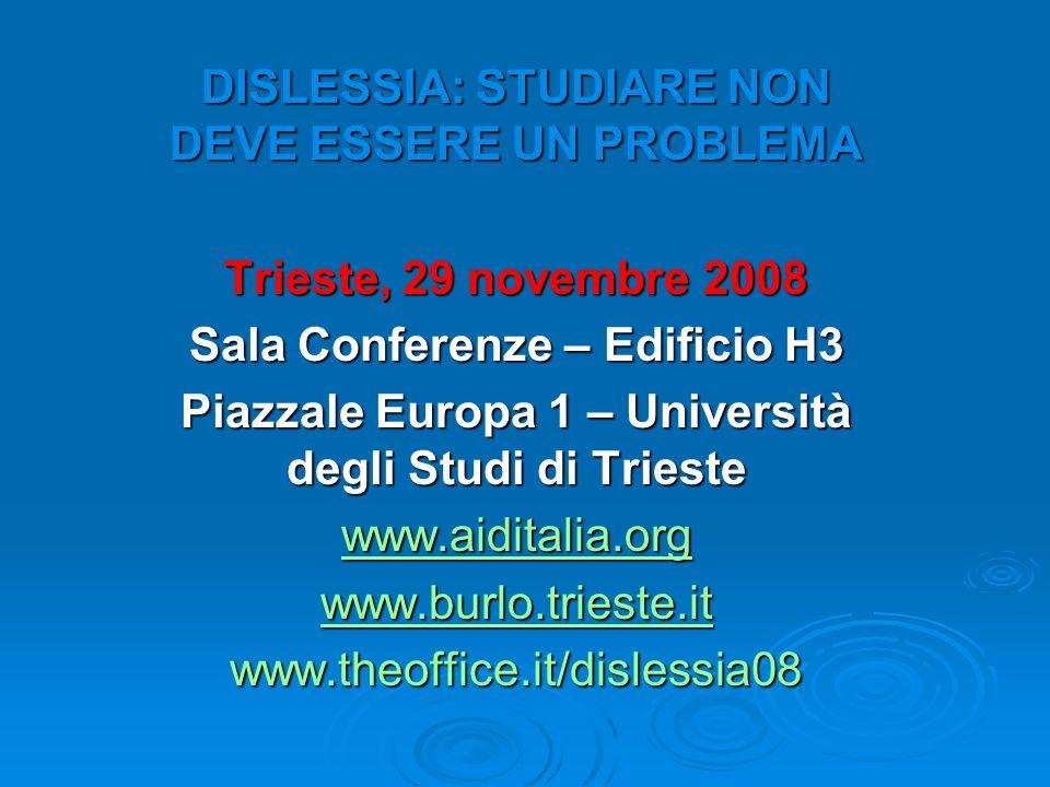 Piazzale Europa 1 – Università degli Studi di Trieste