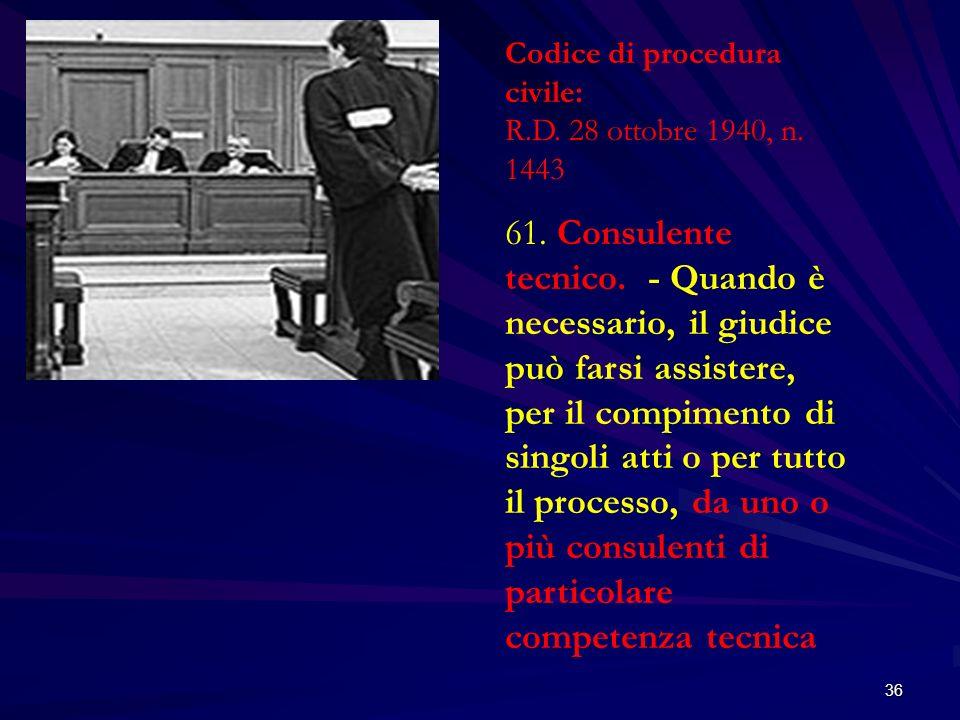 Codice di procedura civile: R.D. 28 ottobre 1940, n. 1443