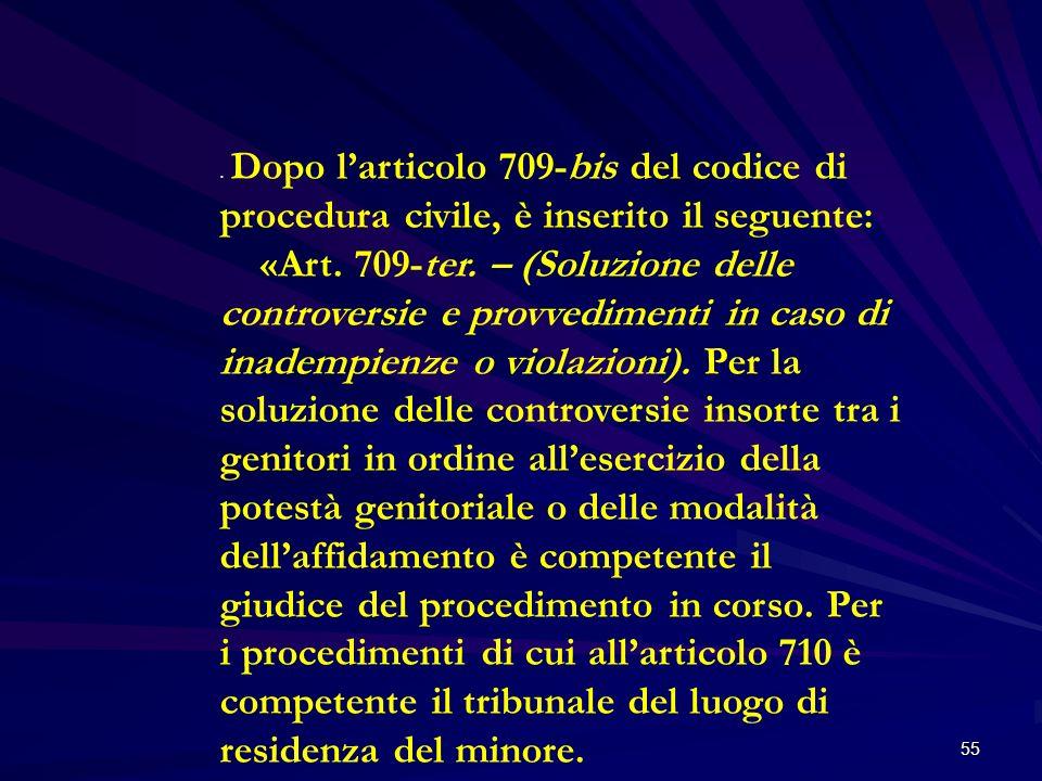Dopo l'articolo 709-bis del codice di procedura civile, è inserito il seguente: «Art.