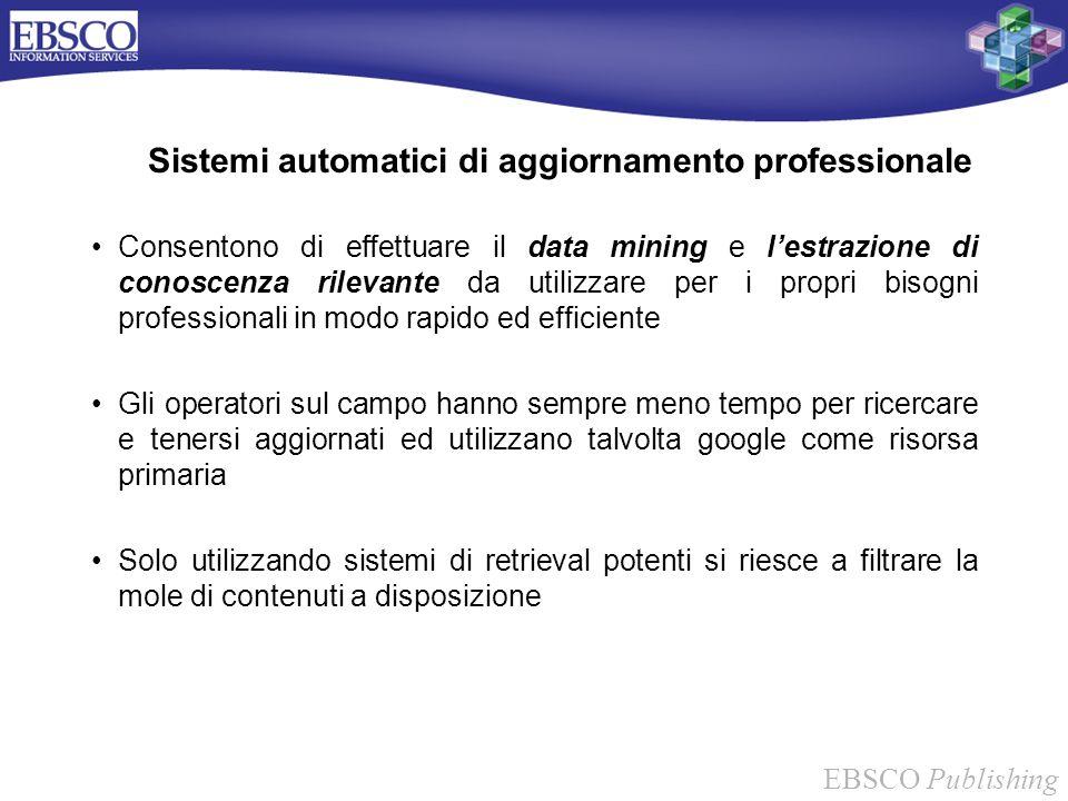 Sistemi automatici di aggiornamento professionale