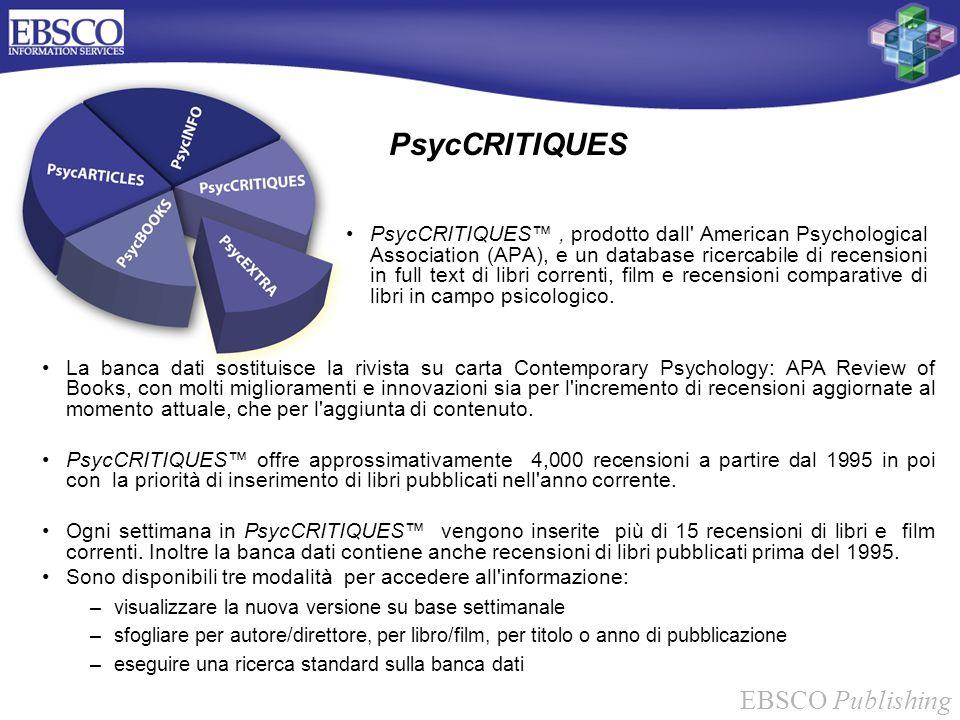 PsycCRITIQUES