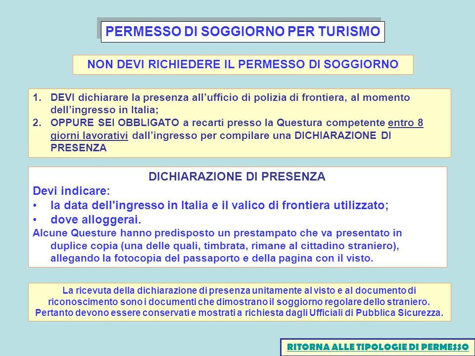 Beautiful Questura Di Rimini Permessi Di Soggiorno Contemporary ...