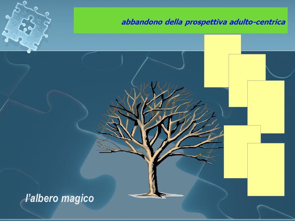 abbandono della prospettiva adulto-centrica l'albero magico