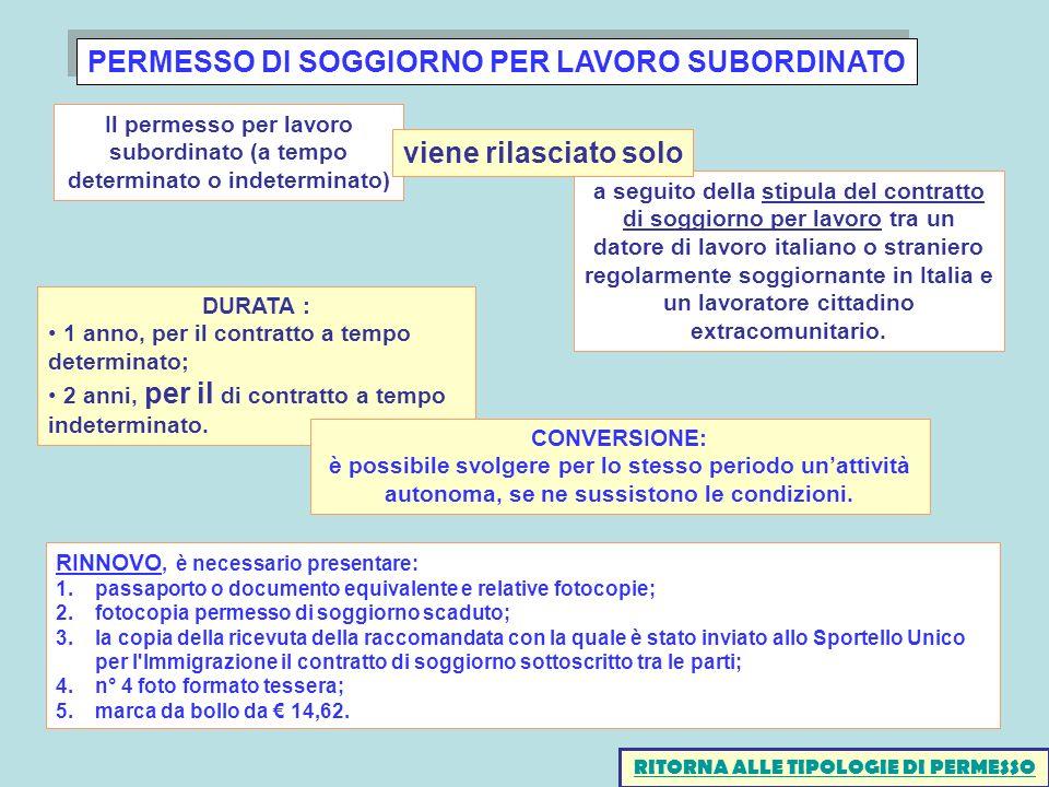 Best Carta Di Soggiorno A Tempo Indeterminato Gallery - House Design ...