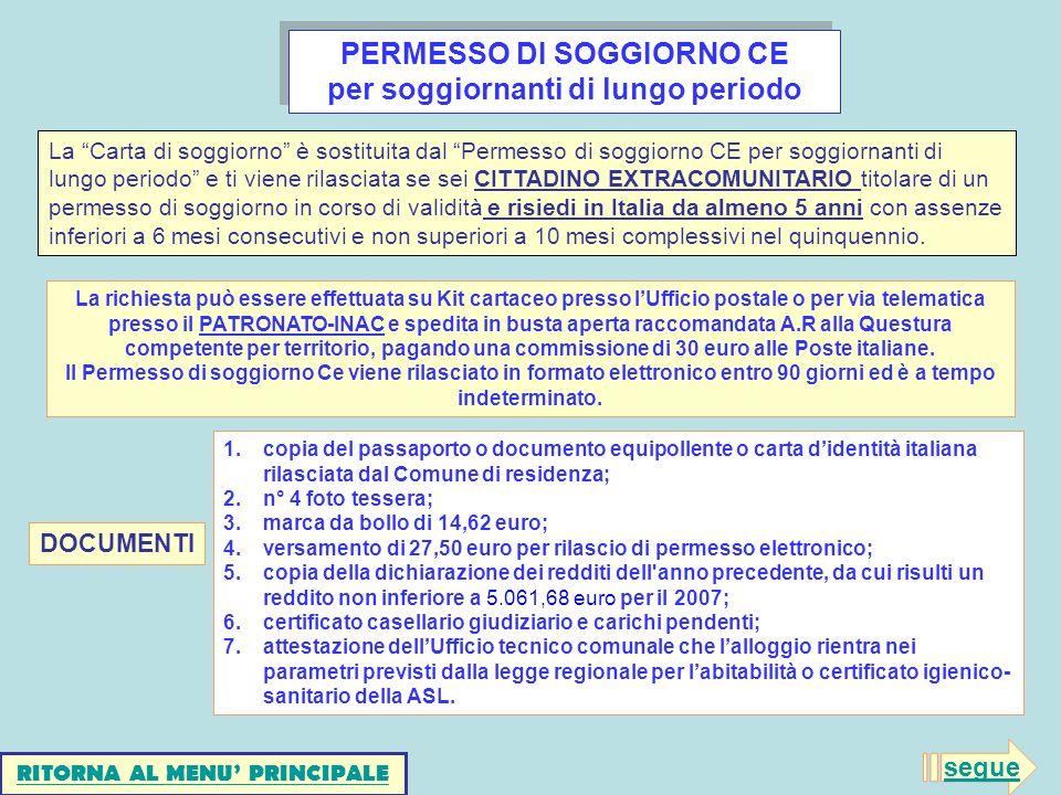 Sportello cia per l assistenza agli immigrati ppt scaricare for Controllo permesso di soggiorno online poste italiane