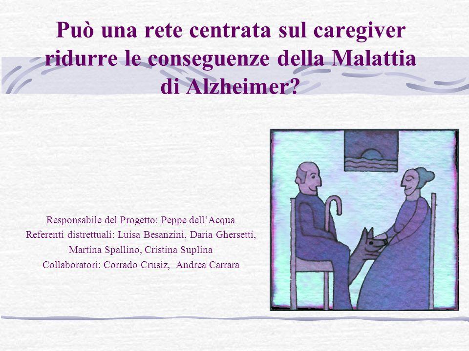 Può una rete centrata sul caregiver ridurre le conseguenze della Malattia di Alzheimer