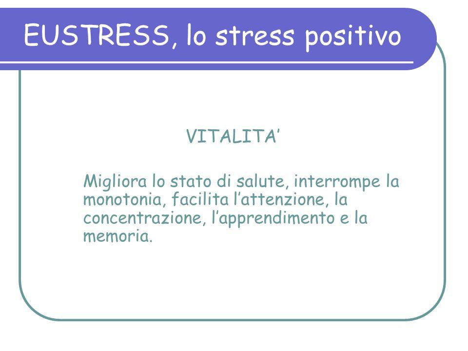 EUSTRESS, lo stress positivo
