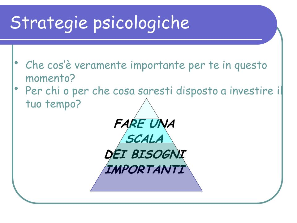 Strategie psicologiche