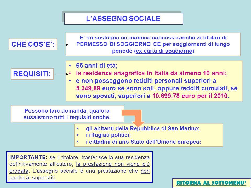 Stunning Requisiti Carta Soggiorno Photos - Idee Arredamento Casa ...