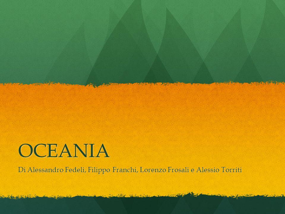 OCEANIA Di Alessandro Fedeli, Filippo Franchi, Lorenzo Frosali e Alessio Torriti