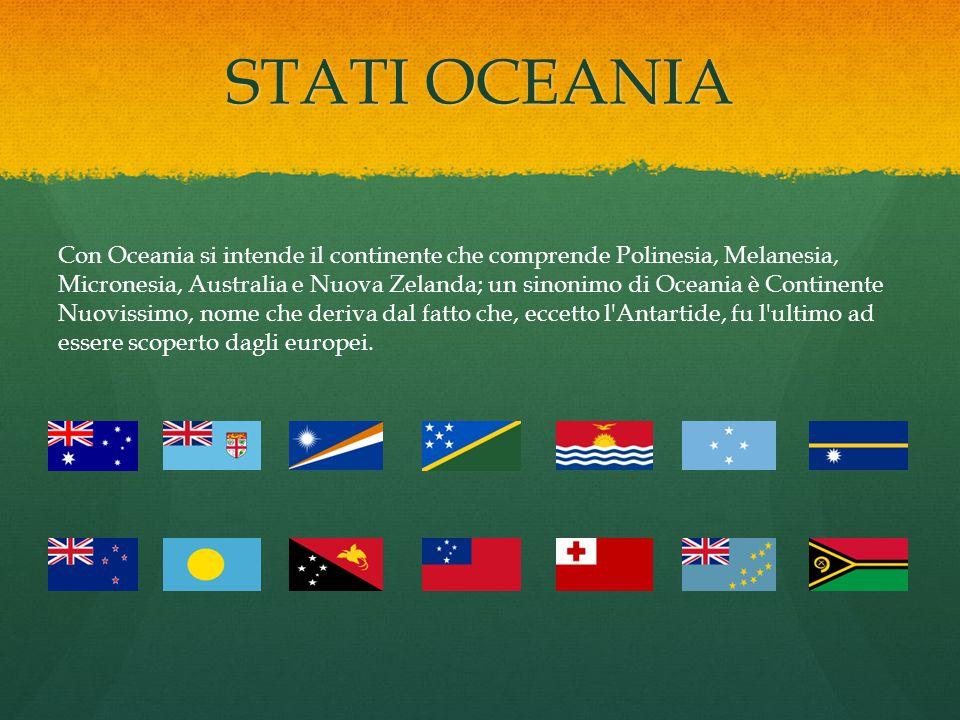 STATI OCEANIA