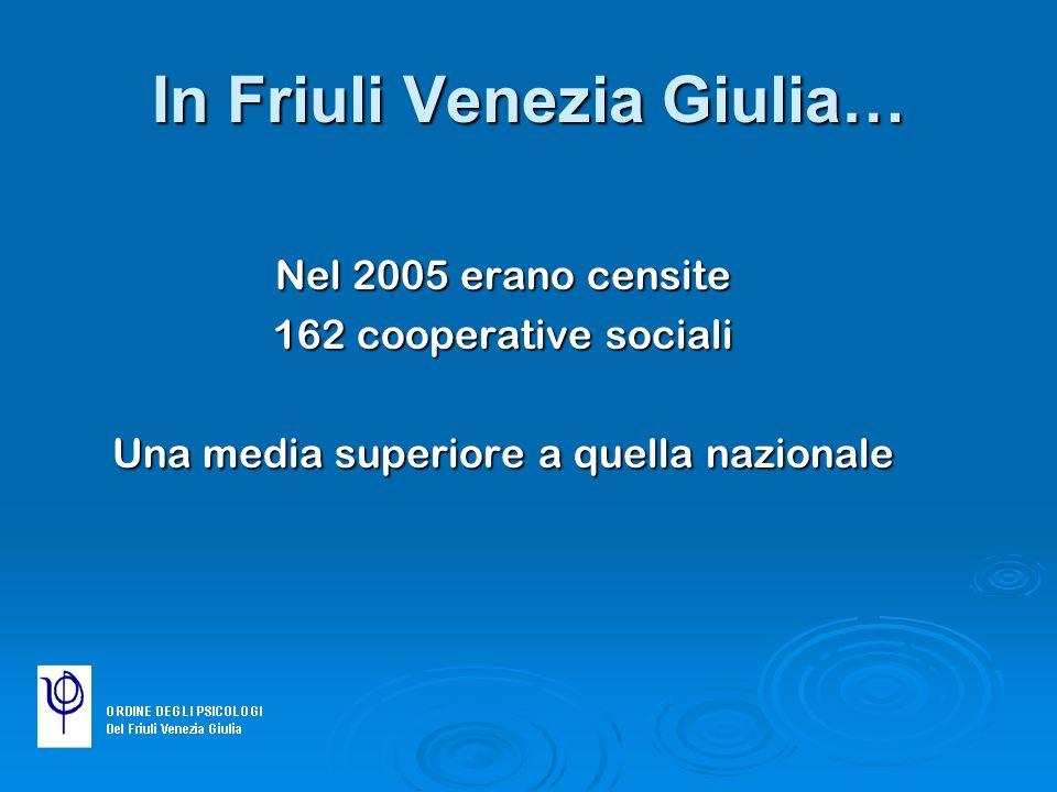 In Friuli Venezia Giulia…