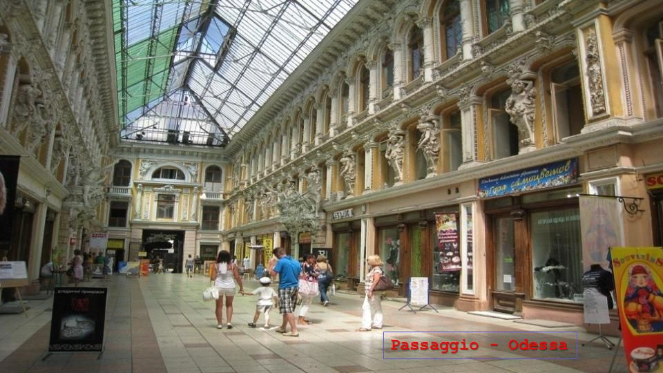 Passaggio - Odessa