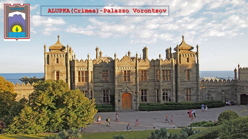 ALUPKA(Crimea)-Palazzo Vorontsov