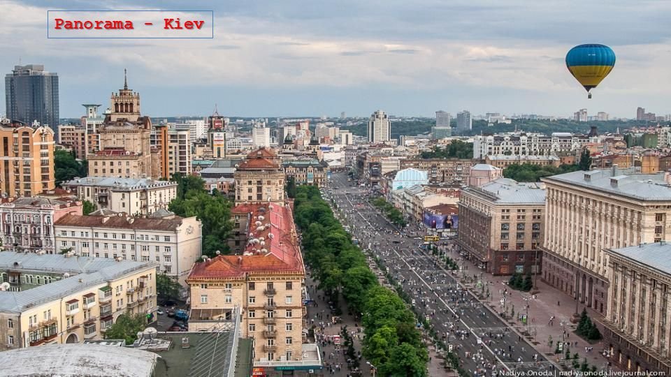 Panorama - Kiev Pecherskaya Lavra, interno - Kiev