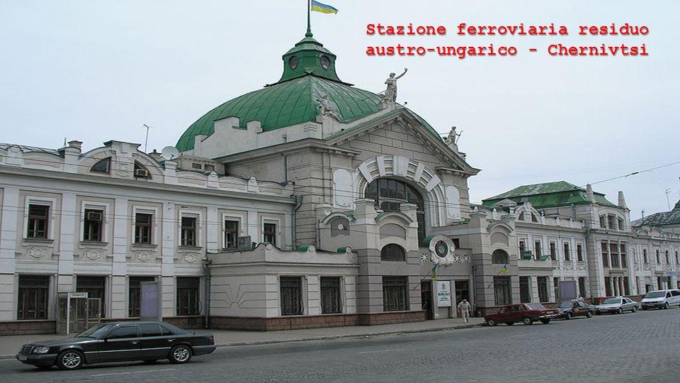 Stazione ferroviaria residuo austro-ungarico - Chernivtsi