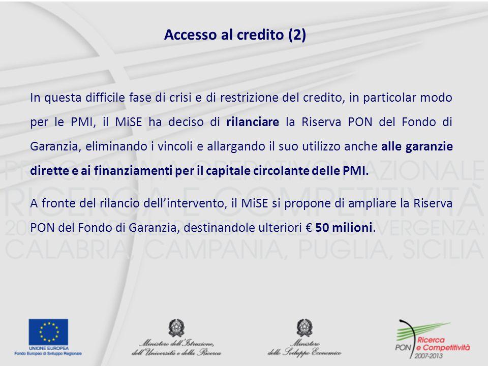 Accesso al credito (2)