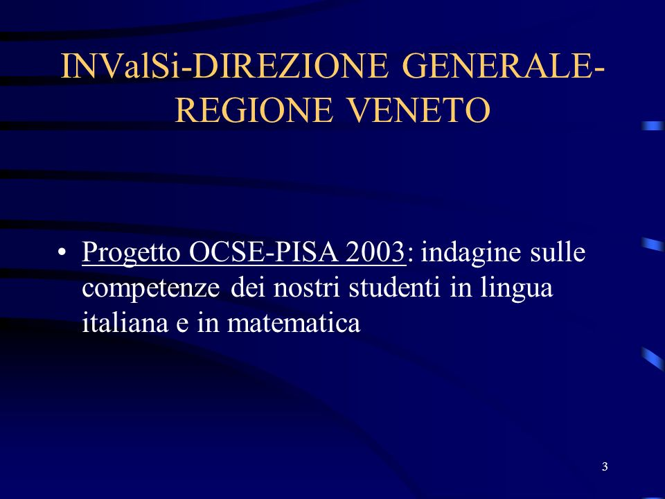 INValSi-DIREZIONE GENERALE-REGIONE VENETO