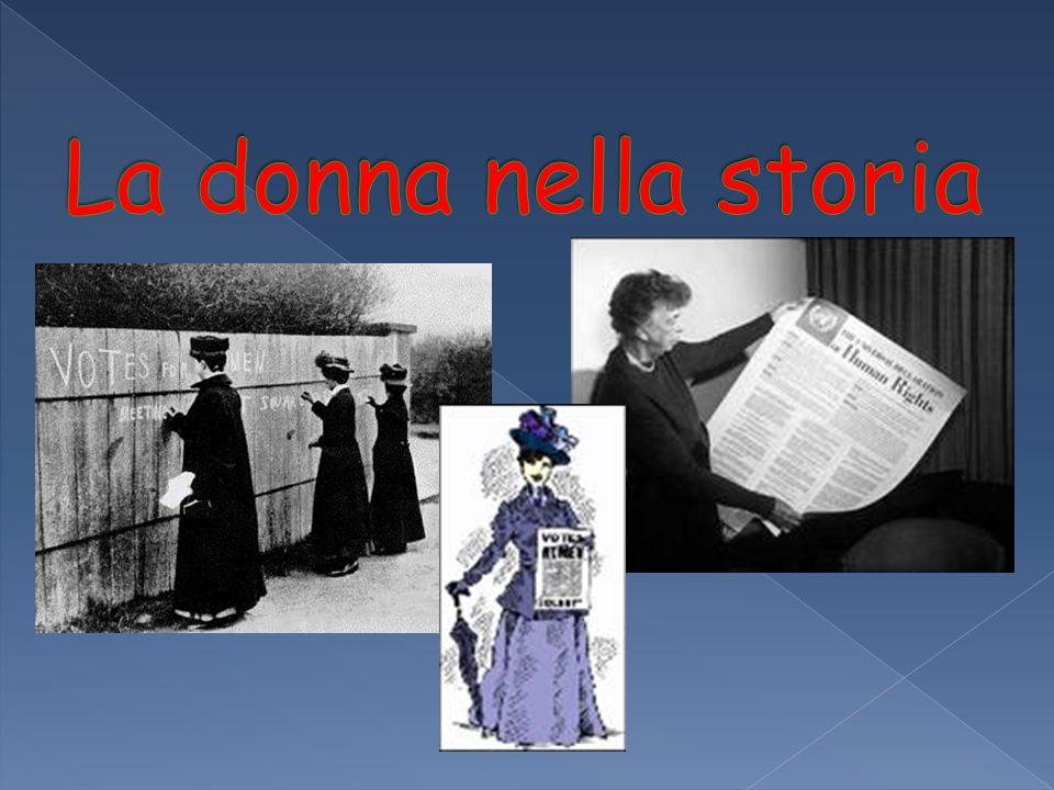 La donna nella storia
