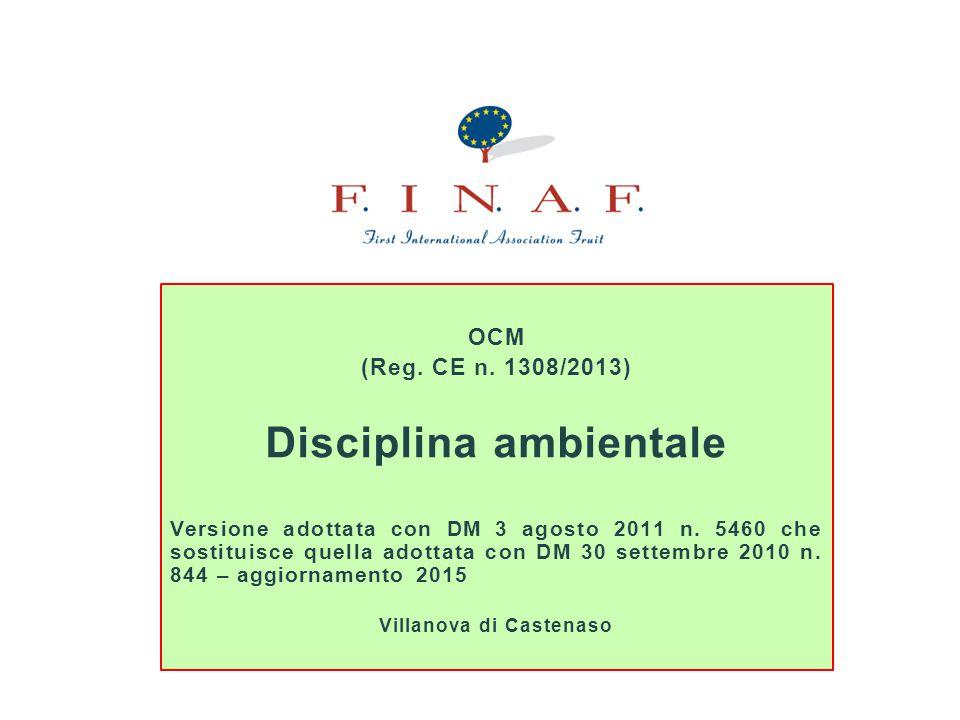 Disciplina ambientale Villanova di Castenaso