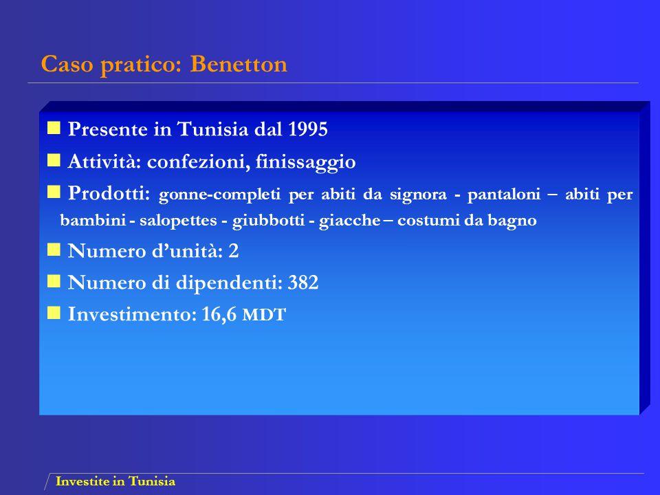 Caso pratico: Benetton