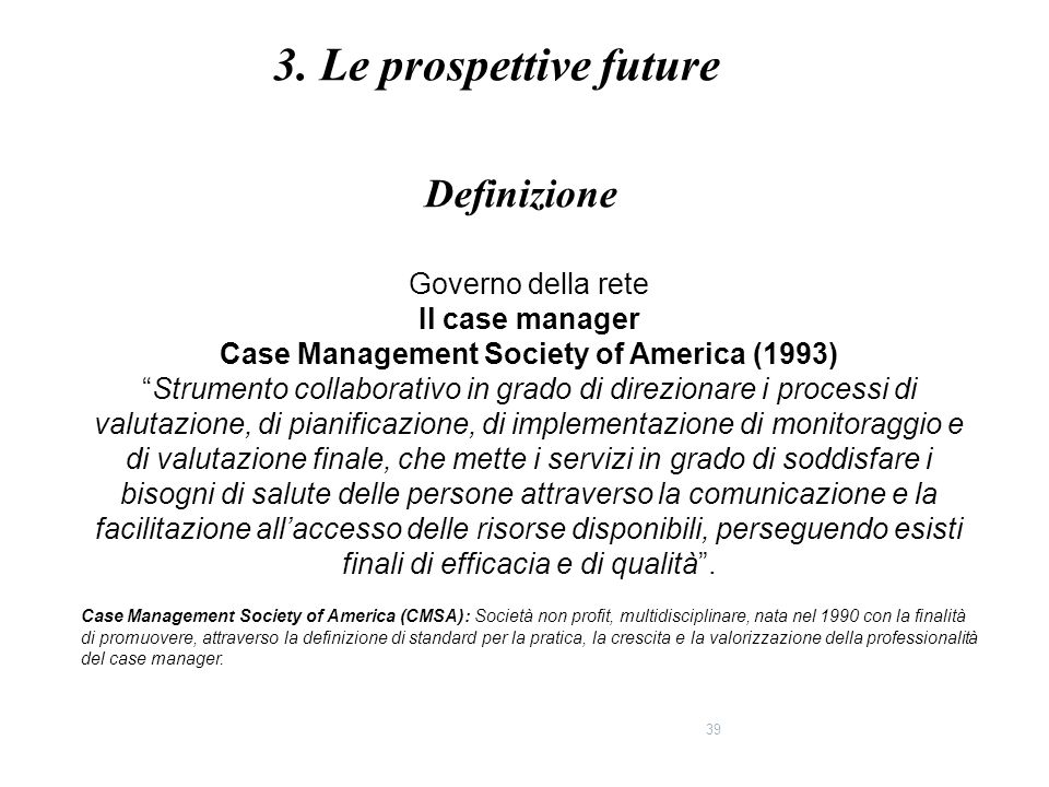 Case Management Society of America (1993)