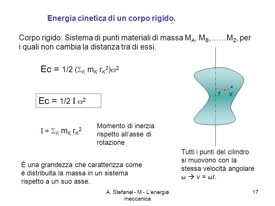A. Stefanel - M - L energia meccanica