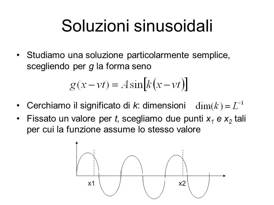 Soluzioni sinusoidali