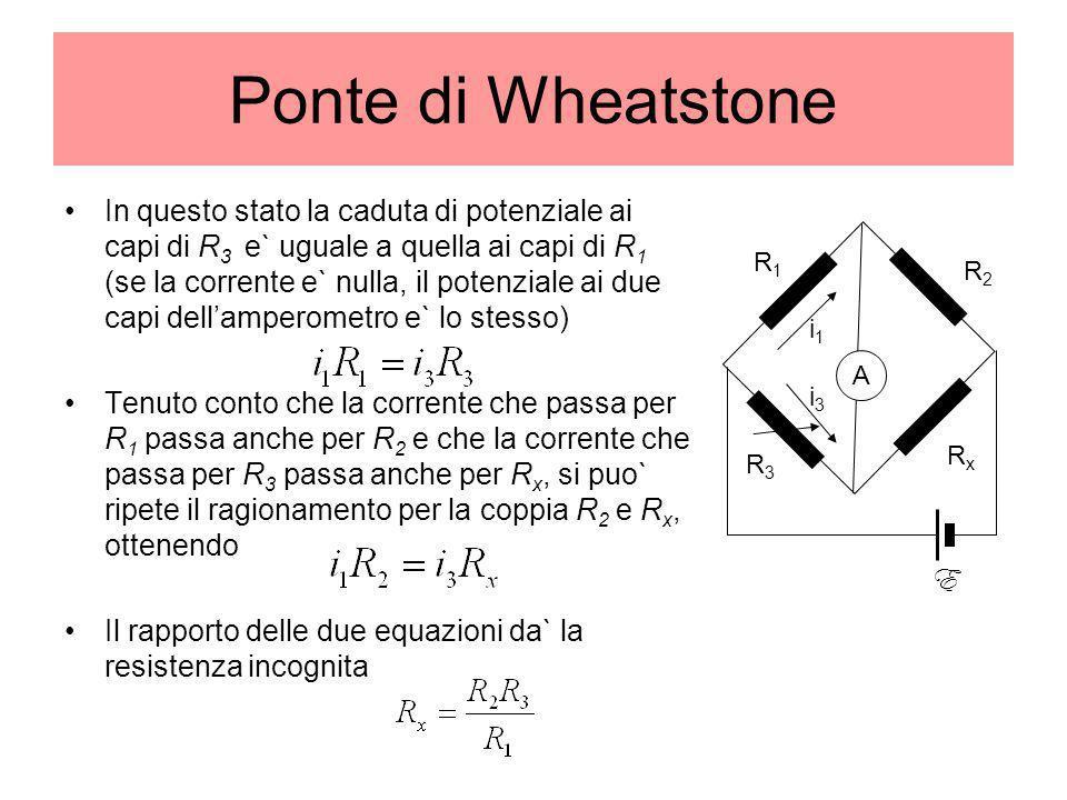 Ponte di Wheatstone