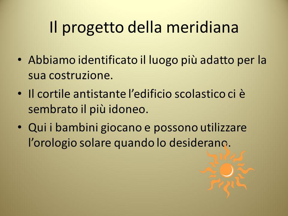 Il progetto della meridiana