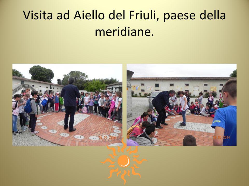 Visita ad Aiello del Friuli, paese della meridiane.