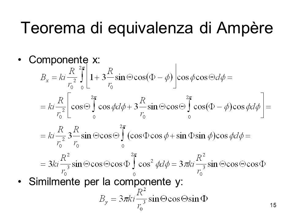 Teorema di equivalenza di Ampère