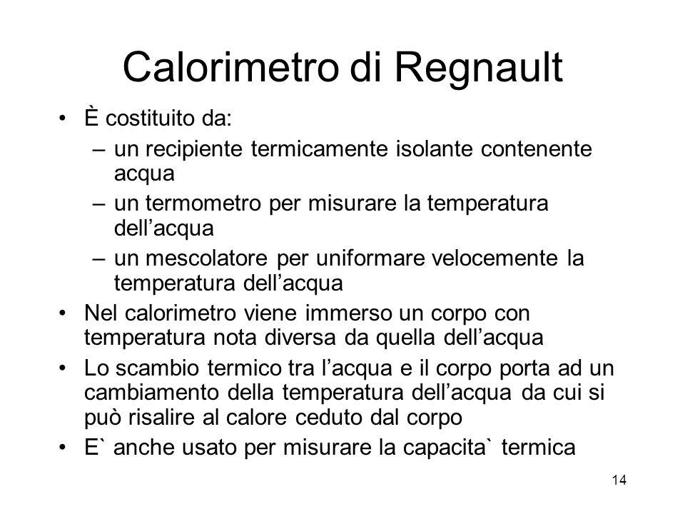 Calorimetro di Regnault