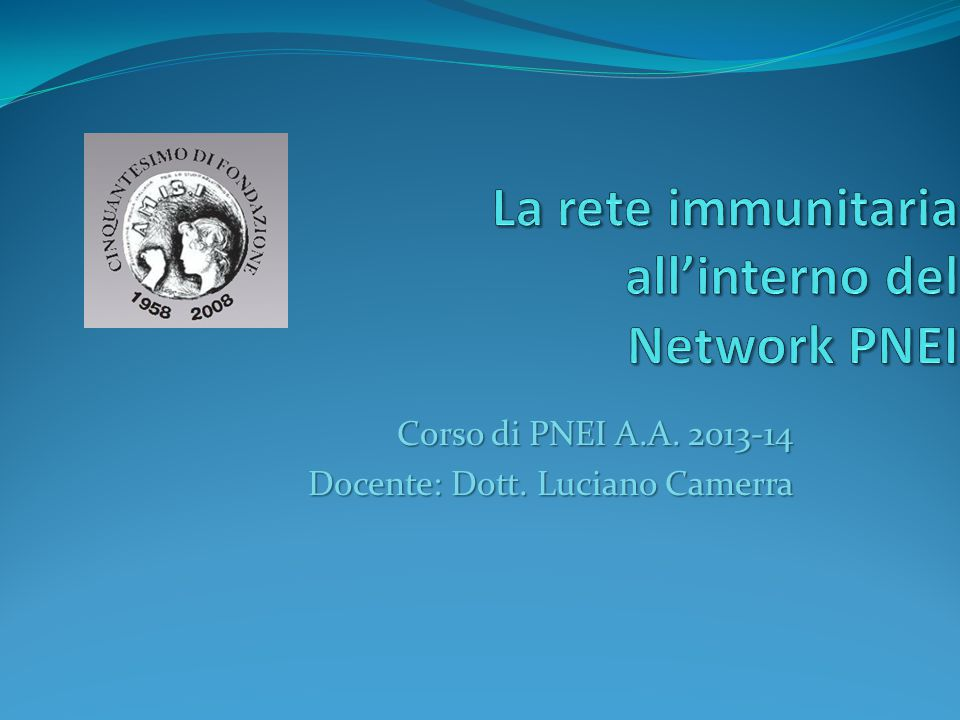 La rete immunitaria all'interno del Network PNEI