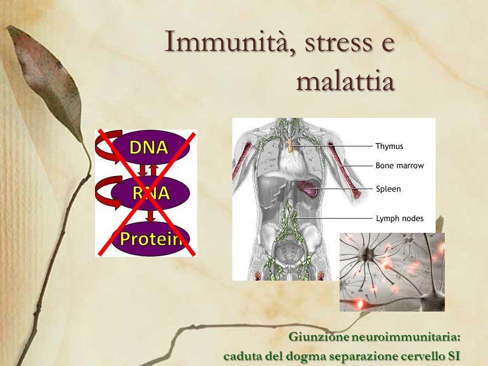 Immunità, stress e malattia