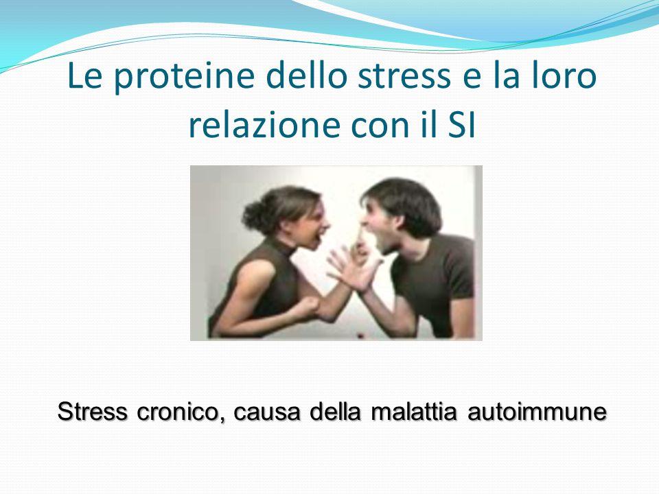 Le proteine dello stress e la loro relazione con il SI