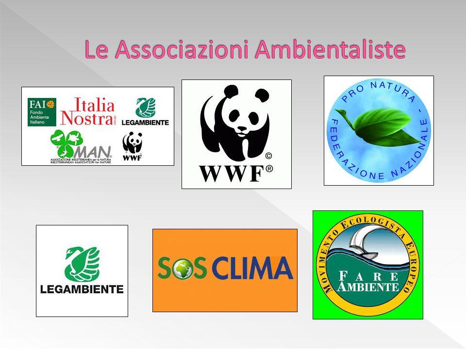 Le Associazioni Ambientaliste