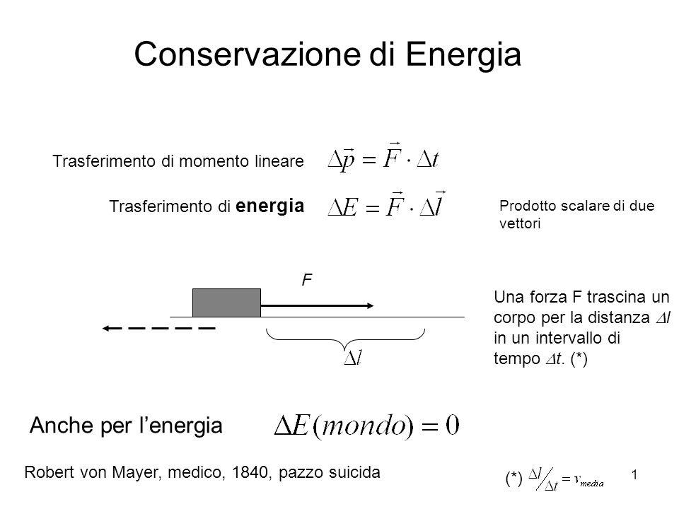 Conservazione di Energia