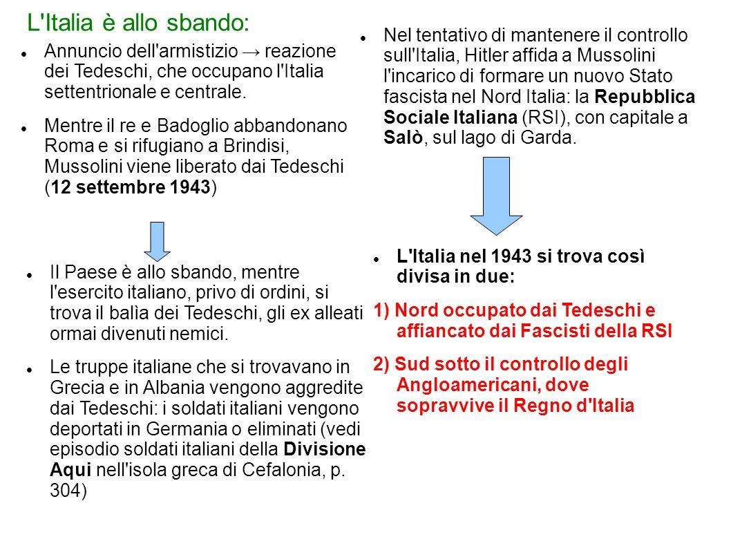 L Italia è allo sbando: