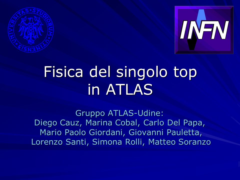 Fisica del singolo top in ATLAS