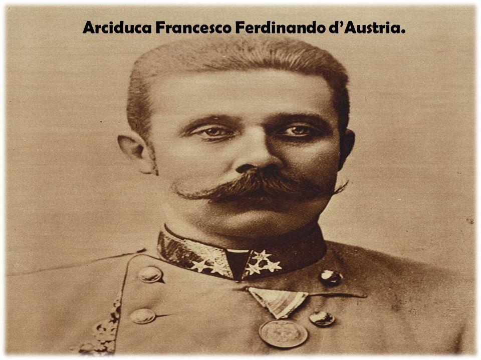 Arciduca Francesco Ferdinando d'Austria.