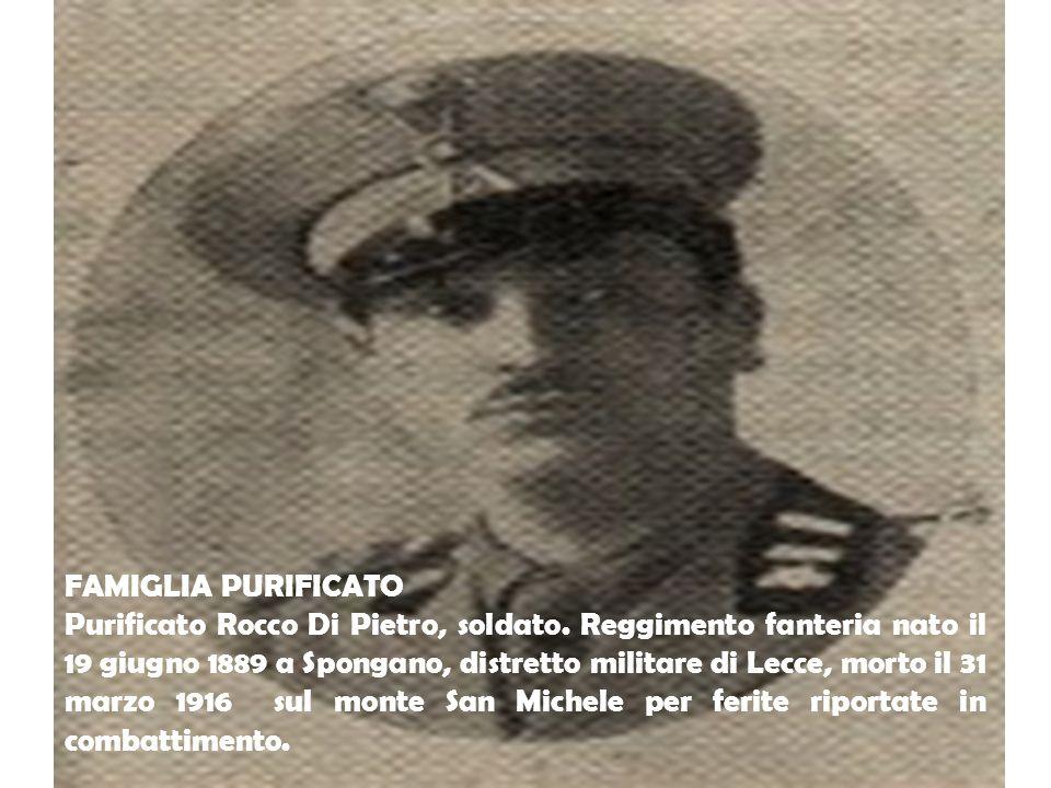 FAMIGLIA PURIFICATO